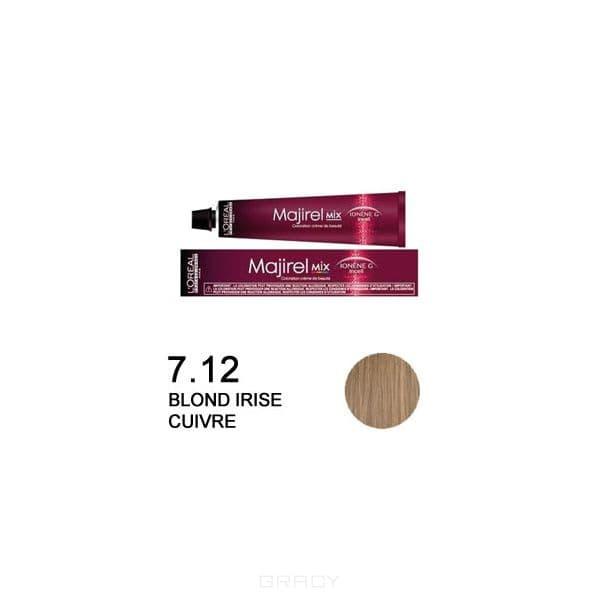 LOreal Professionnel, Крем-краска Мажирель Majirel, 50 мл (88 оттенков) 7.12 блондин пепельно-перламутровый