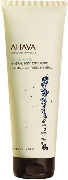 Ahava Минеральный скраб для тела Deadsea Water, 200 мл ahava deadsea mud dermud nourishing body cream питательный крем для тела 200 мл