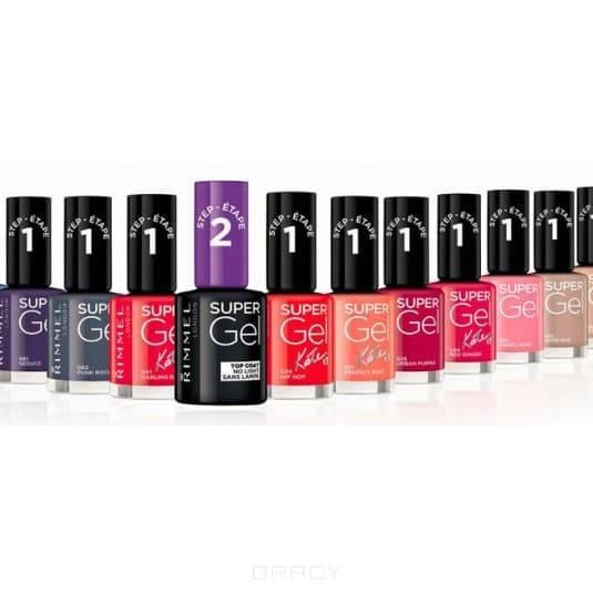 Rimmel Гель-лак для ногтей Super Gel Nail polish (8 оттенков), Тон 014, 12 мл жидкость domix green professional nail gel polish remuver