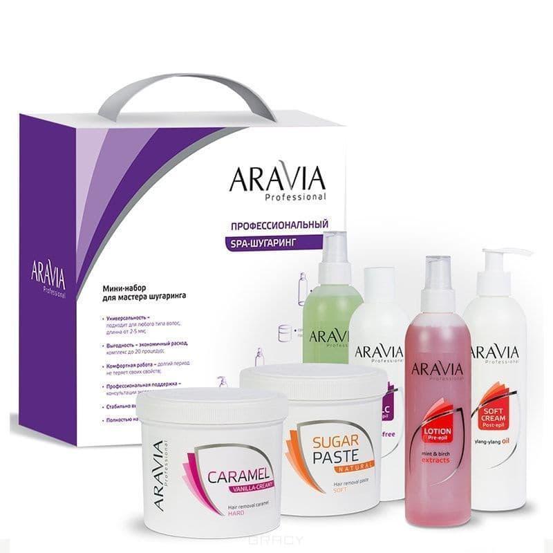 Aravia Мини-набор для мастера №2 runail воск для депиляции cardi ароматная аргана 100 мл