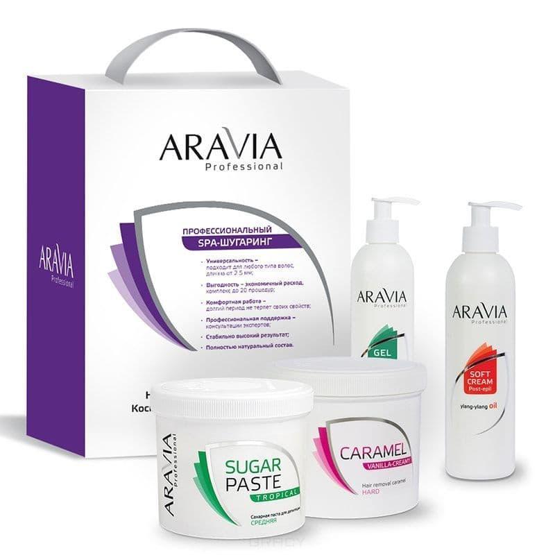 Aravia Промо-набор 3+1 №2 гель охлаждающий с маслом мятной камфоры aravia professional