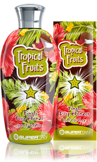 Supertan Разогревающий бронзатор с тингл-эффектом Tropical Fruits, 200 мл solar dried tropical fruits from fiji