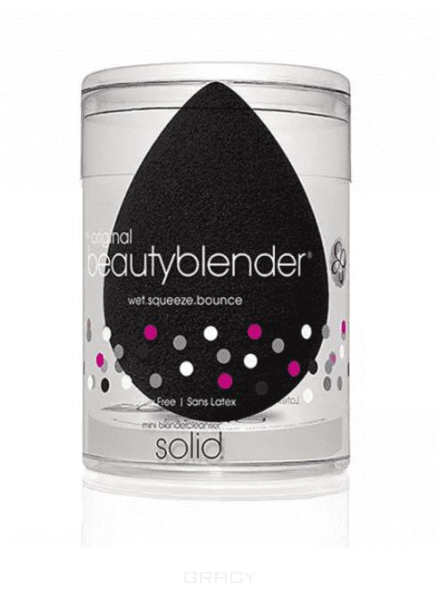 цена на BeautyBlender Набор косметический Beautyblender Pro + Blendercleanser Solid Mini черный спонж + мини-мыло