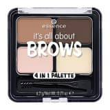 Essence Тени для бровей Its All About Brows 4 in 1, 6.2 гр