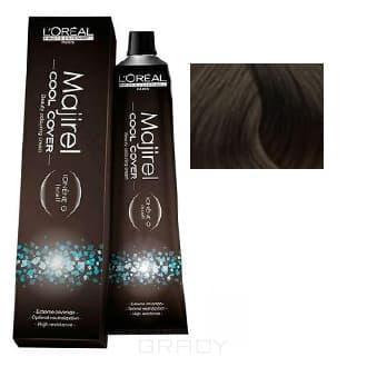 LOreal Professionnel, Краска для волос Majirel Cool Cover, 50 мл (33 оттенка) 8.11 светлый блондин глубокий пепельный