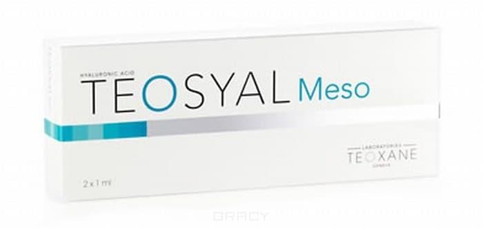 Teosyal Мезотерапия и биоревитализация Meso 2 х 1 мл крем herbolive для лица шеи и зоны декольте 50 мл
