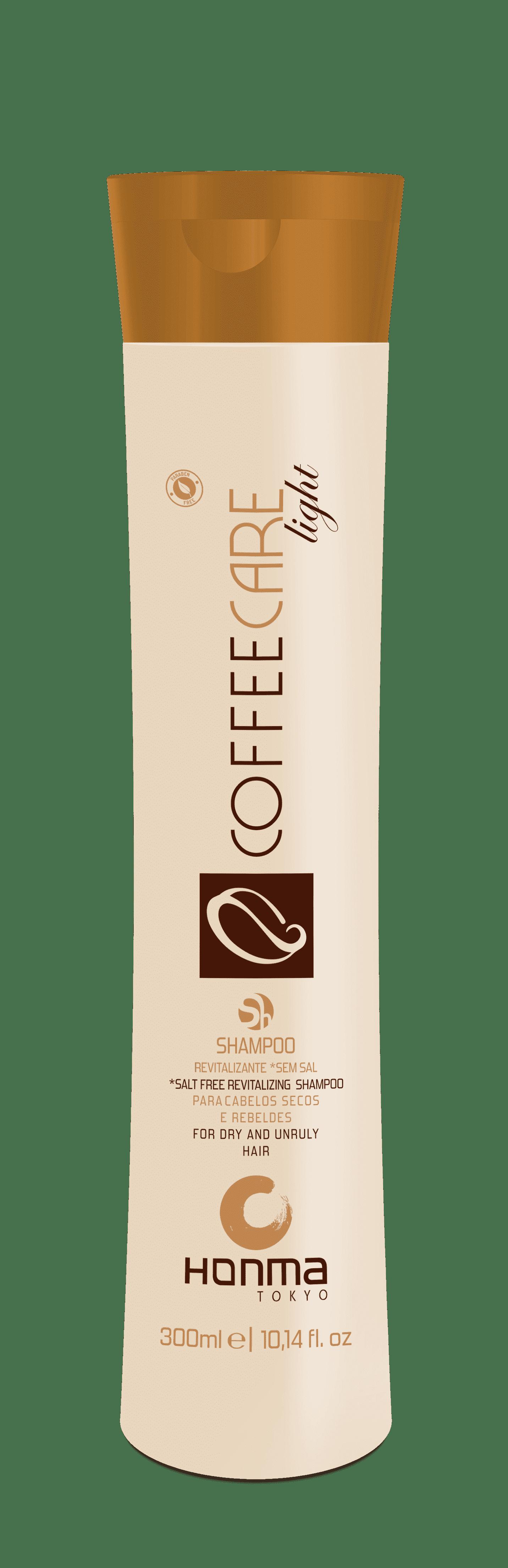 Honma Tokyo Coffee Care Light Бессолевой восстанавливающий шампунь питание и укрепление, 300 мл, 1000 мл honma tokyo кератин шаг 2 линии coffee premium all liss шаг 2 линии coffee premium all liss 500 мл