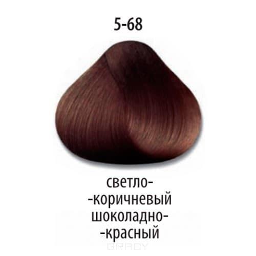 Constant Delight, Стойкая крем-краска для волос Delight Trionfo (63 оттенка), 60 мл 5-68 Светлый коричневый шоколадный красный