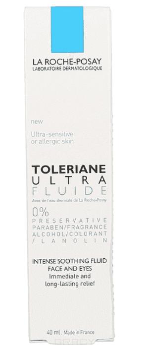 La Roche Posay Ультра Toleriane, 40 мл ультра флюид toleriane ultra fluide 40 мл