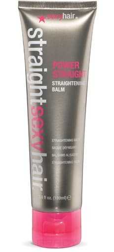 Sexy Hair Бальзам выпрямляющий Power Straight Temporary Straightening Balm, 100 мл