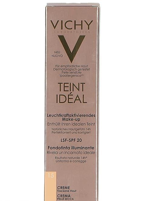Vichy Тональный крем Teint Ideal, 30 мл, Тональный крем Teint Ideal, 30 мл, 30 мл, тон 25 Песочный тональный крем vichy тональный флюид тан идеаль 25