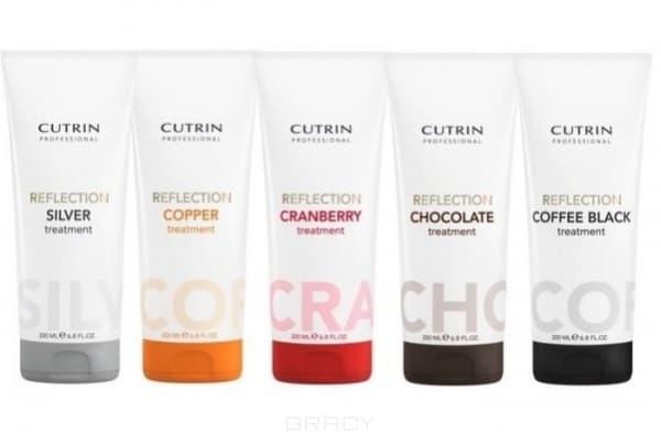 Cutrin, Тонирующая маска для усиления цвета окрашенных волос Reflection Color Care Conditioner Treatment, 200 мл (8 оттенков) Тонирующая маска для усиления цвета окрашенных волос Reflection Color Care Conditioner Treatment, 200 мл