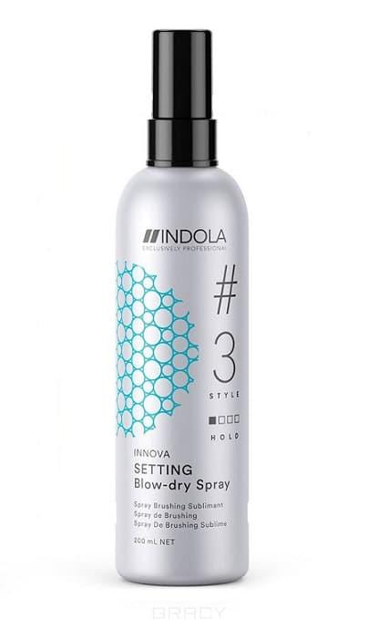 цена на Indola Экспресс-спрей для быстрой сушки волос Wonder Blow Dry, 200 мл
