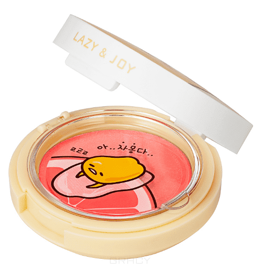 "где купить Holika Holika Гелевые румяна ""Гудетама"" Gudetama Jelly Dough Blusher, 6 г (4 тона), 6 г, тон PK01, слива недорого с доставкой"