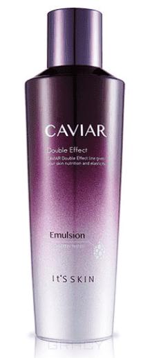 Its Skin - Лифтинг-эмульсия для лица с икрой Кэвиар Дабл Эффект Caviar Double Effect Emulsion, 150 мл