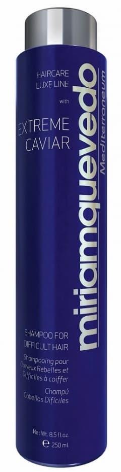 MiriamQuevedo Шампунь с экстрактом черной икры для непослушных волос Extreme Caviar Shampoo for Difficult Hair, 250 мл