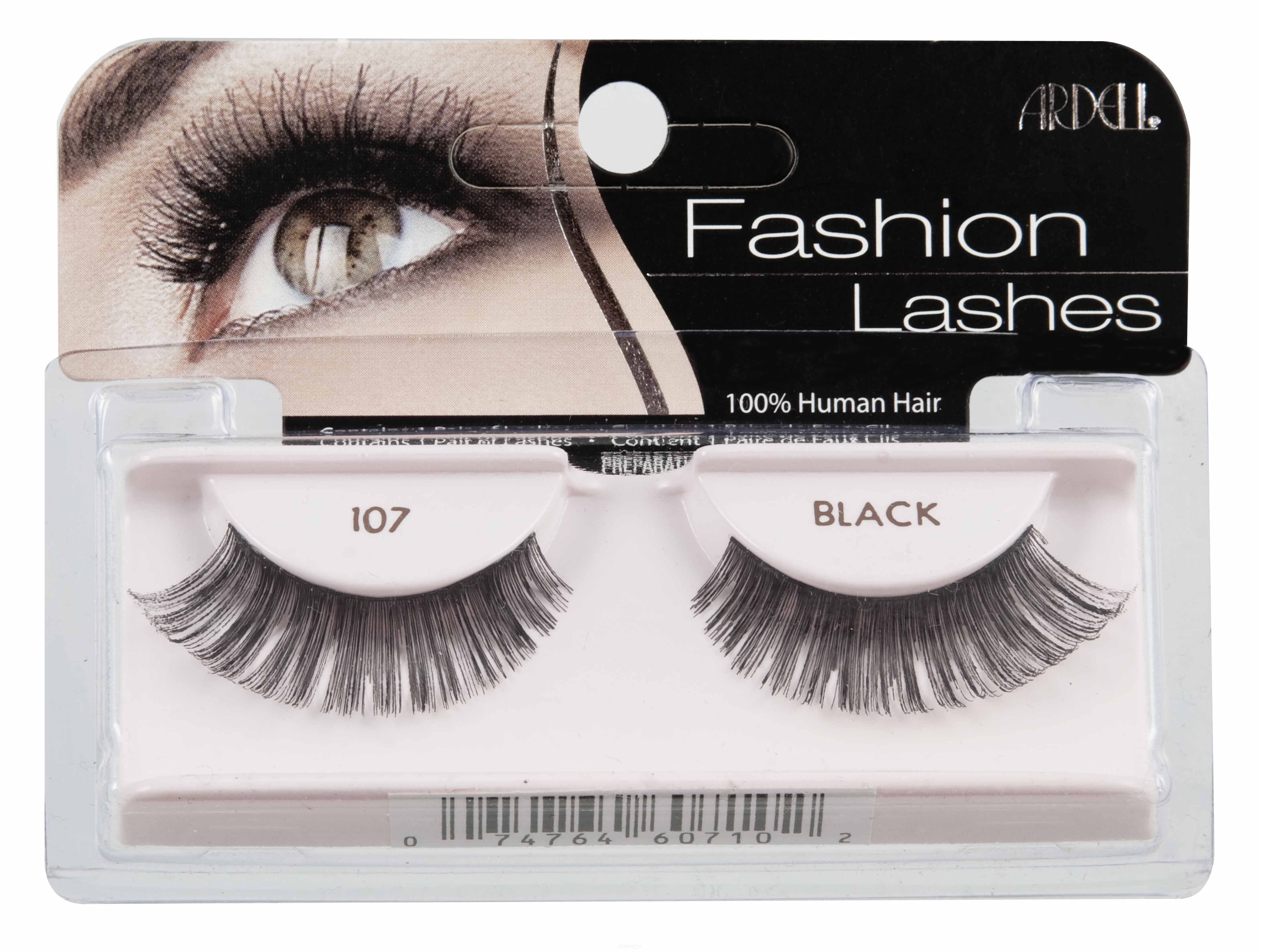 Ardell Накладные ресницы Fashion Lashes 107 накладные ресницы ardell magnetic strip lash double demi wispies цвет double demi wispies variant hex name 000000