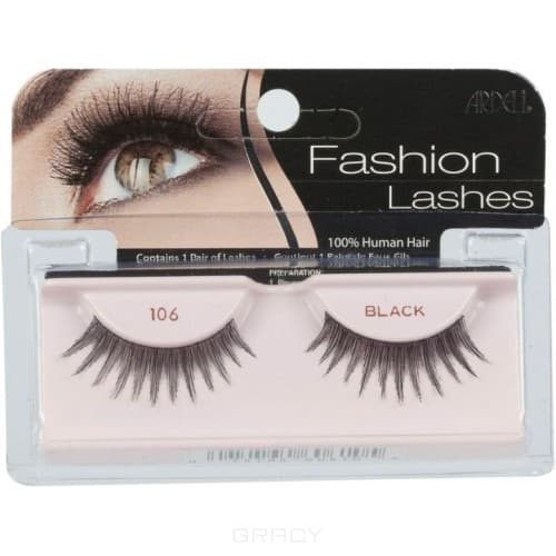 Ardell Накладные ресницы Fashion Lashes 106 накладные ресницы ardell magnetic strip lash double demi wispies цвет double demi wispies variant hex name 000000