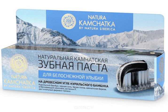 Natura Siberica Натуральная камчатская зубная паста для белоснежной улыбки Kamchatka, 100 мл