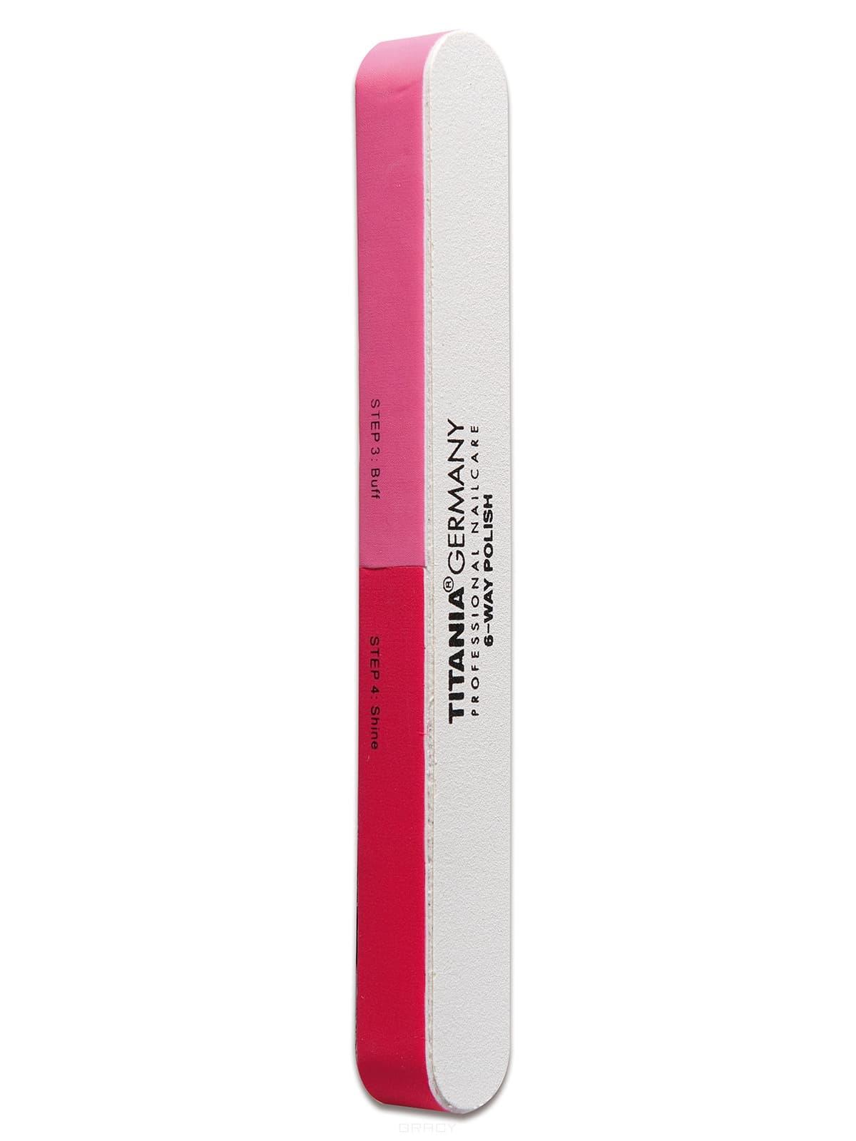 Titania Полировочная пилка 6-ти сторонняя 1038 cnd пилка 3 х сторонняя полировочная тонкая 4 way