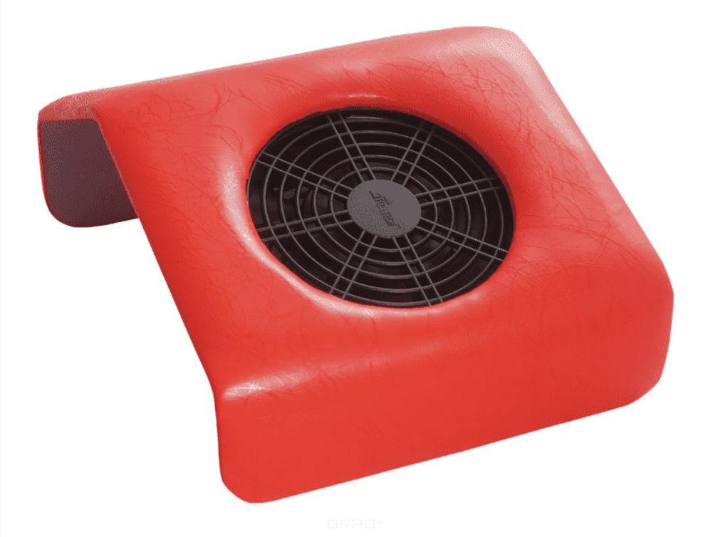 Planet Nails, Мини подставка-пылесос для маникюра Красный