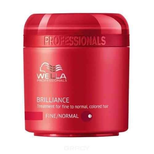 Wella Крем-маска для окрашенных нормальных и тонких волос, 150 мл