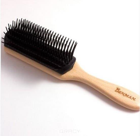 Denman Щетка для волос 7 рядов D3W, Щетка для волос 7 рядов D3W, 1 шт недорого
