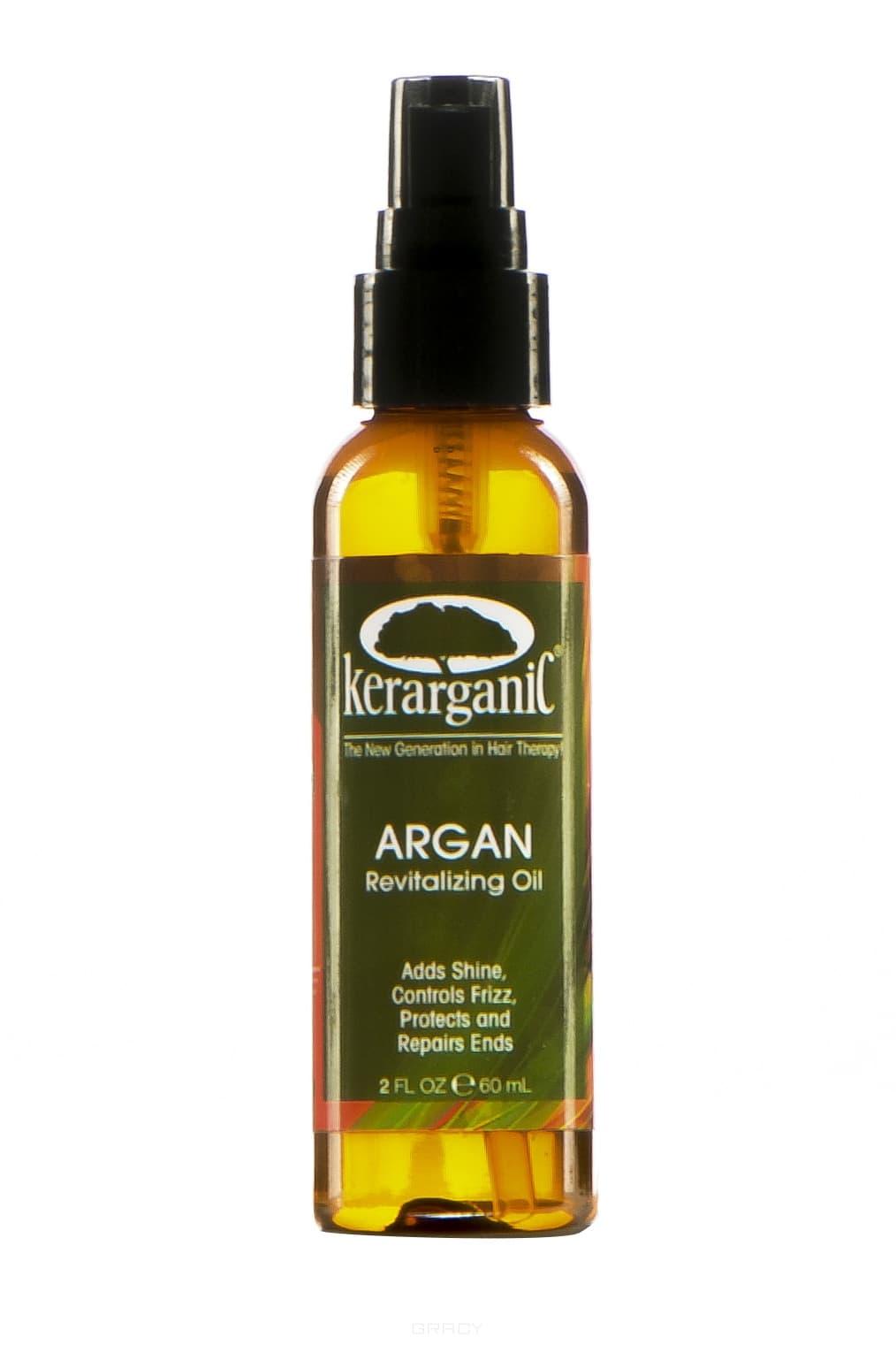 Kerarganic Argan Oil Аргановое масло, 60 мл, KERARGANIC Argan Oil Аргановое масло, 50 мл, 60 мл hask argan oil дуо набор для восстановления волос argan oil дуо набор для восстановления волос