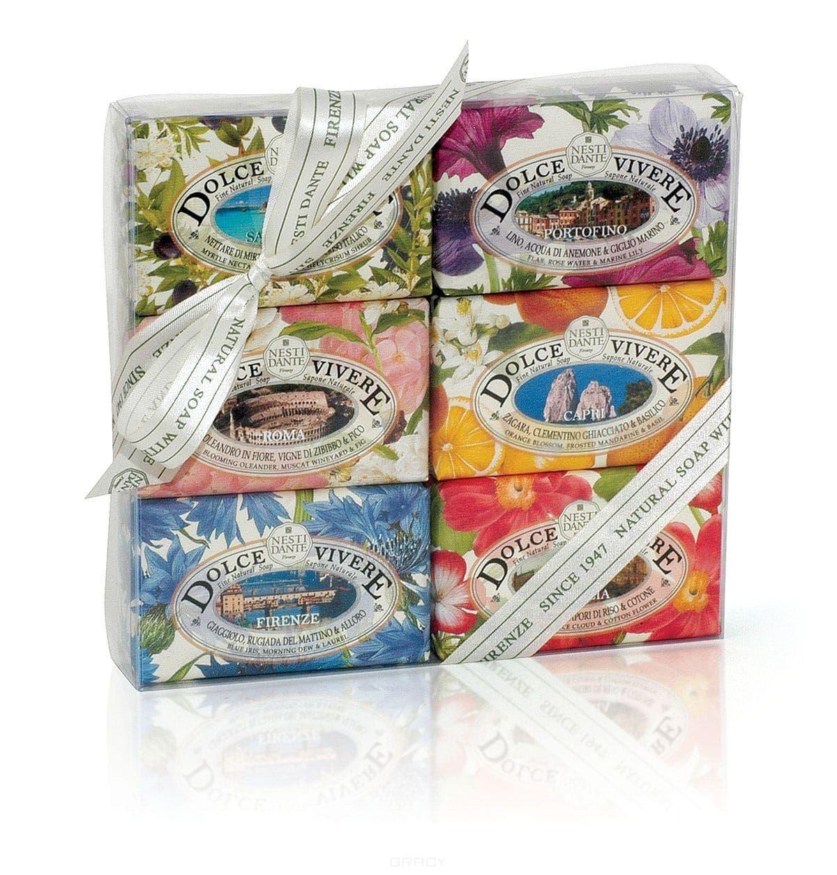 Nesti Dante Набор мыла Сладкая жизнь, 6 х 150 гр луч набор для изготовление мыла цветы