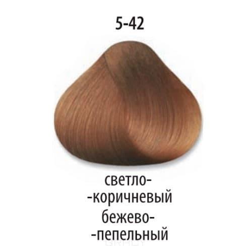 Constant Delight, Стойкая крем-краска для волос Delight Trionfo (63 оттенка), 60 мл 5-42 Светлый коричневый бежевый пепельный