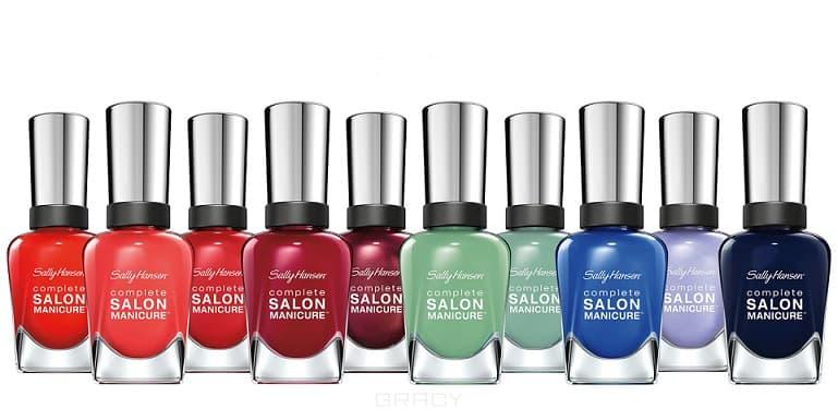 цены Sally Hansen Лак для ногтей Salon Manicure Keratin, 14.7 мл (17 оттенков), тон 533 Tropic thunder, 14.7 мл
