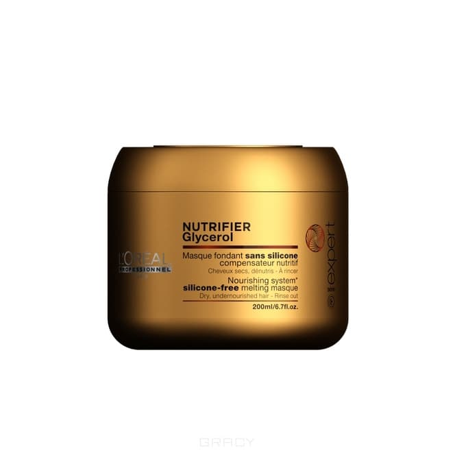 L'Oreal Professionnel Маска для сухих волос Serie Expert Nutrifier Masque, 500 мл лак l oreal professionnel crystal extreme 5 500 мл