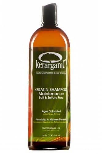 Kerarganic Кератиновый шампунь безсульфатный для домашнего ухода, 236 мл kerarganic органический шампунь для укрепления волос scalp