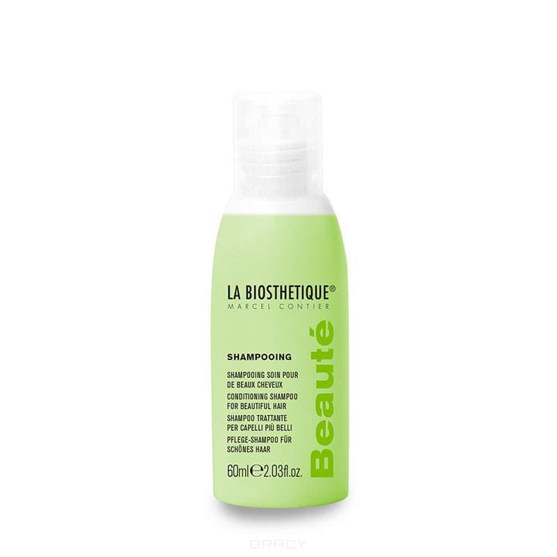 La Biosthetique Шампунь фруктовый для волос всех типов волос Shampooing Beaute, 60 мл anju beaute шампунь для щенков и котят пассифлора и ваниль douceur extreme shampooing an110 0 2