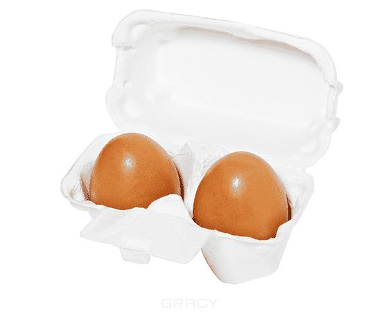 Holika Holika Мыло маска с красной глиной Red Clay Egg Soap, 50 г*2