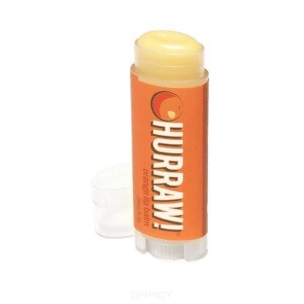 Hurraw Бальзам для губ Апельсин Orange Lip Balm, Бальзам для губ Апельсин Orange Lip Balm, 1 шт hurraw бальзам для губ чайные специи chai spice lip balm бальзам для губ чайные специи chai spice lip balm 1 шт