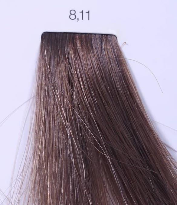LOreal Professionnel, Краска для волос INOA (Иноа), 60 мл (96 оттенков) 8.11 светлый блондин интенсивный пепельный