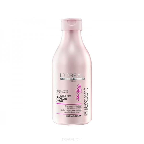 L'Oreal Professionnel Шампунь-фиксатор цвета Serie Expert Vitamino Color AOX Shampoo, Шампунь-фиксатор цвета Serie Expert Vitamino Color AOX Shampoo, 250 мл 10pcs bnc male to rca female coax cable connector adapter fm coupler for cctv camera