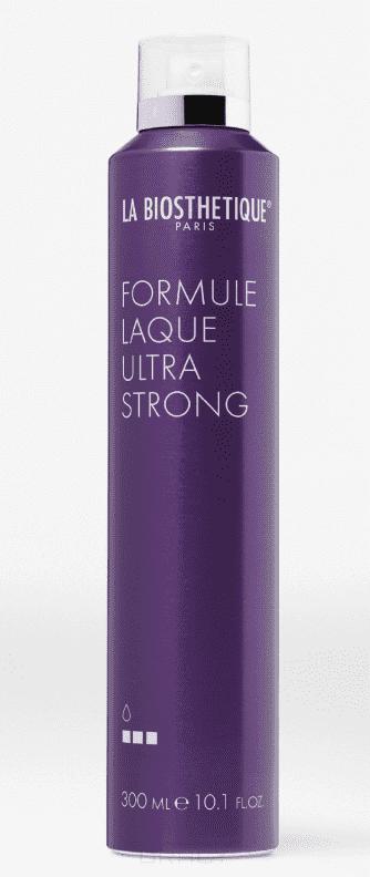 La Biosthetique Аэрозольный лак экстрасильной фиксации Formule Laque Ultra Strong, 300 мл la biosthetique моделирующий лак для волос сильной фиксации molding spray 300 мл