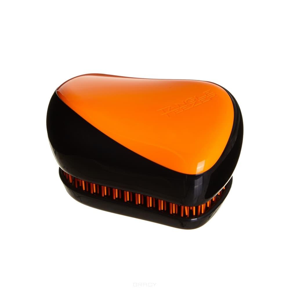 Tangle Teezer Расческа для волос Compact Styler Orange Flare, Расческа для волос Compact Styler Orange Flare, 1 шт tangle teezer расческа для волос salon elite yellow
