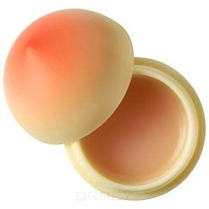 тони моли бальзам для губ mini berry черника 7 2гр Увлажняющий бальзам для губ Mini Lip Balm Peach Персик, 7 гр