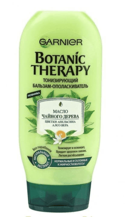 Garnier Бальзам-ополаскиватель для волос Масло чайного дерева Botanic Therapy, 200 мл