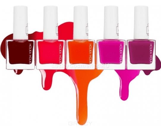 Holika  Лак-тинт для ногтей Пис Мэтчинг Piece Matching Nails (Tint), 10 мл (5 оттенков),  , Алый PK08 Cranberry Pudding