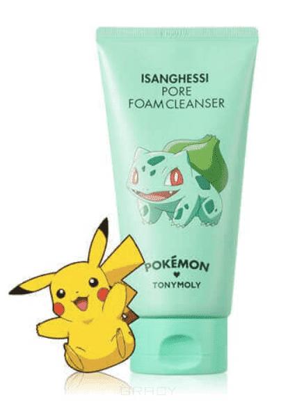 Tony Moly Пенка для умывания и очищения пор Pore Foam Cleanser (Pokemon Edition) #Isanghessi маска tony moly тканевые маски pureness 100 mask sheet tony moly