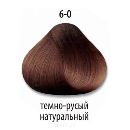 Constant Delight, Стойкая крем-краска для волос Delight Trionfo (63 оттенка), 60 мл 6-0 Темный русый натуральный