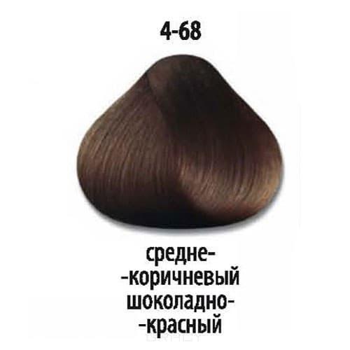 Constant Delight, Стойкая крем-краска для волос Delight Trionfo (63 оттенка), 60 мл 4-68 Средний коричневый шоколадный красный