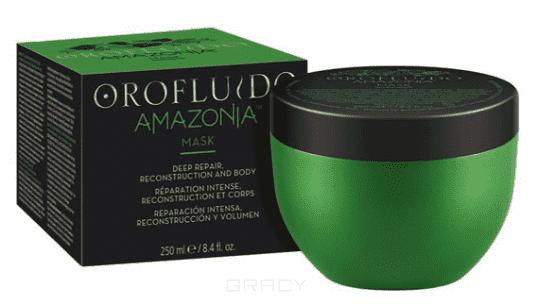 Фото - Orofluido Восстанавливающая маска для ослабленных и поврежденных волос Amazonia OF Mask, 250 мл orofluido восстанавливающая маска для ослабленных и поврежденных волос amazonia 250 мл