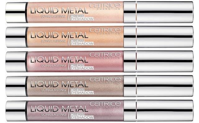 Catrice - Тени для век кремовые Liquid Metal Longlasting Cream Eyeshadow (5 тонов)