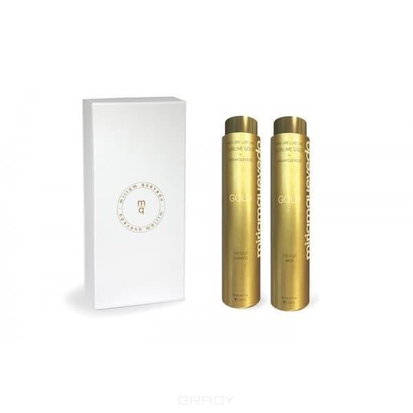 золотая линия sublime gold MiriamQuevedo Золотой набор The Sublime Gold Kit, 2 флак. по 250 мл