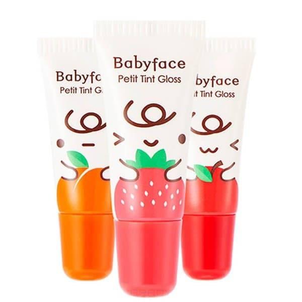 Купить It's Skin - Блеск-тинт для губ Бейби Фейс Петит Babyface Petit Tint Gloss, 8 г (3 тона)